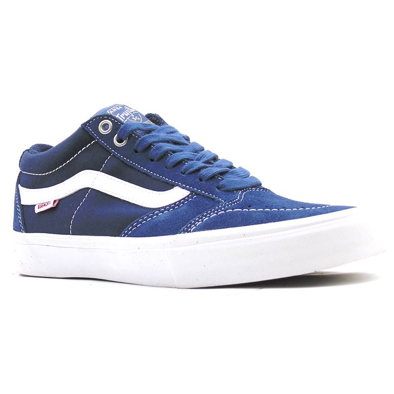 15127e71a0b704 Tênis Vans Tnt Sg Washed Canvas Navy White - Gallery Rock - galleryrock