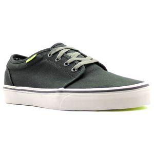 Tenis-Vans-106-Vulcanized-Black-Charcoal-Neon-Yellow-L37d-