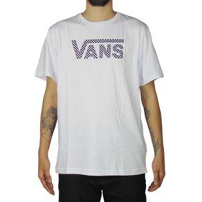 Camiseta-Vans-Classic-Quadriculada-Branca-