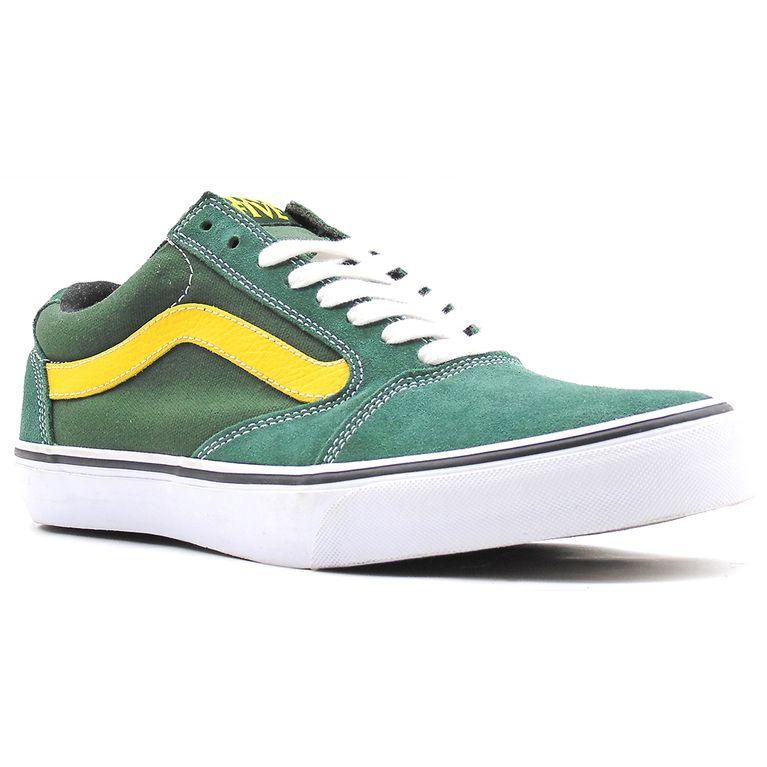 1745256ee9e60 Tênis Vans Tnt 5 Oak Green Yellow - Gallery Rock - galleryrock