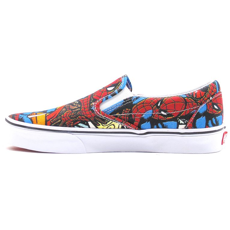e91d82138cd Tênis Vans Classic Slip On Marvel Spiderman - galleryrock