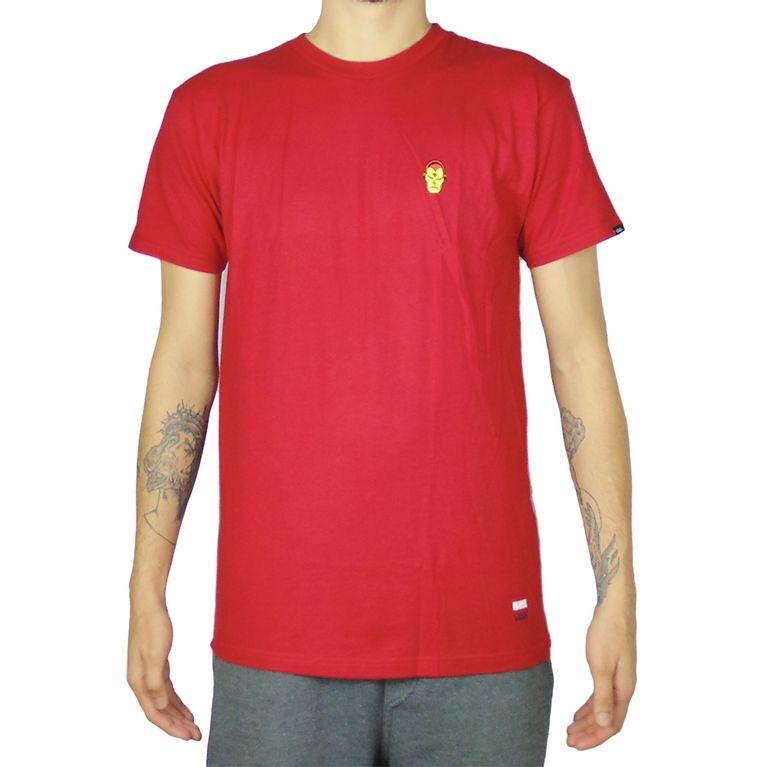 a46b85d989e1e Camiseta Vans Marvel Ironman Vermelha - galleryrock