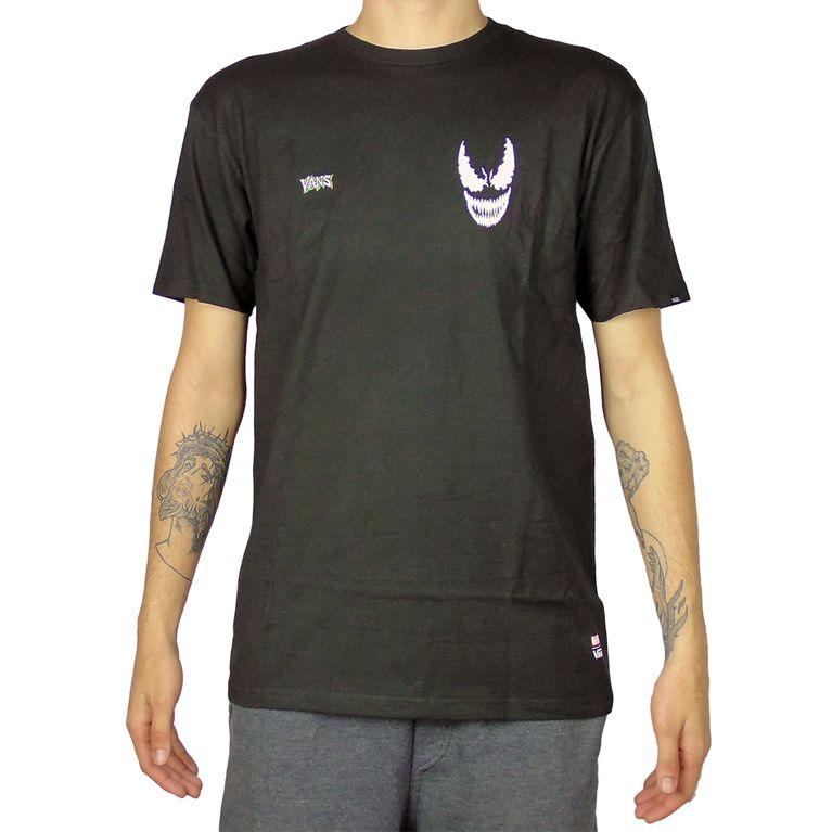 d9e074302a9 Camiseta Vans Marvel Venom Preta - galleryrock