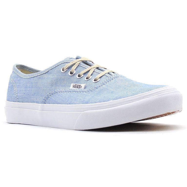 e33269eaea Tênis Vans Authentic Slim (Chambray) Blue True White - galleryrock