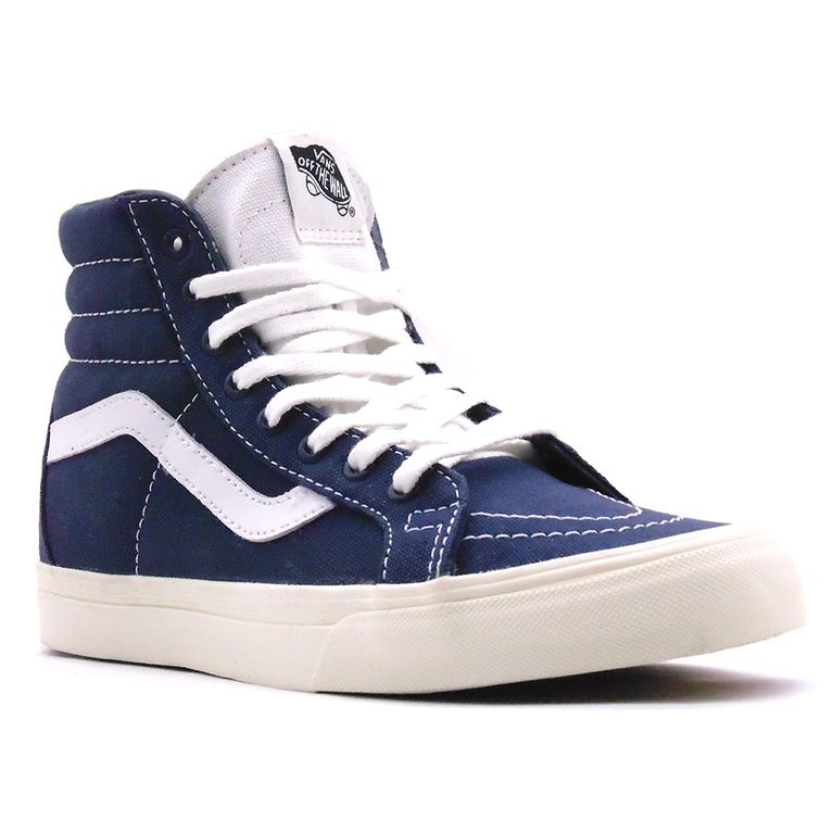 7932942e190 Tênis Vans Sk8 Hi Reissue 10 Oz Canvas Dress Blues Marshmallow ...