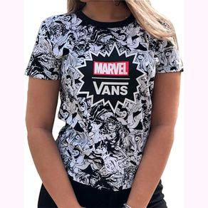 Camiseta-Vans-Marvel-Women-Baby-Tee-Black