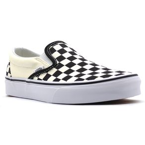 Tenis-Vans-Classic-Slip-On-Black-White-Checkerboard-L110-