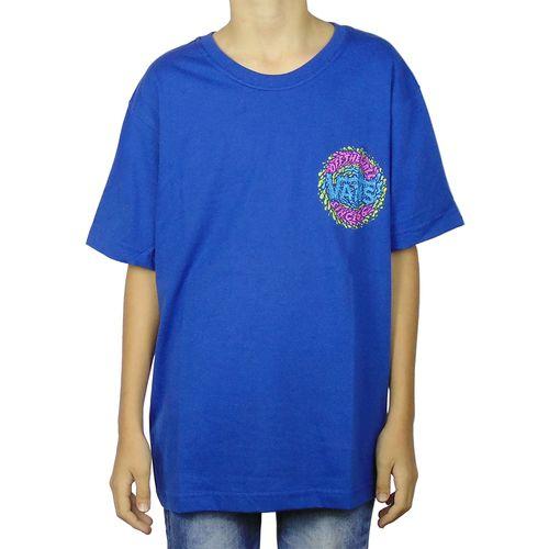 Camiseta-Vans-Slimed-Azul-Juvenil-