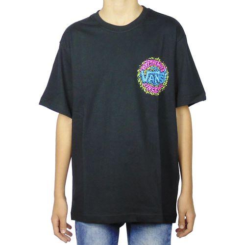 Camiseta-Vans-Slimed-Preta-Juvenil-