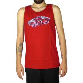 Camiseta-Regata-Vans-OTW-Quadriculada-Vermelha-