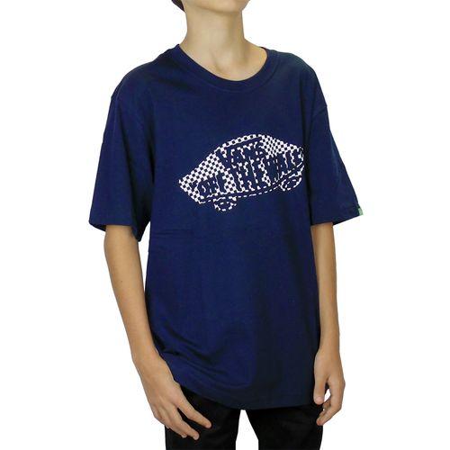 Camiseta-Vans-OTW-Fill-Quadriculada-Marinho-Juvenil