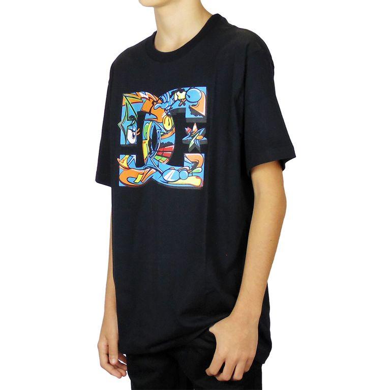 bc7830e86d Camiseta DC All City Preta Juvenil - galleryrock