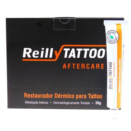 Aftercare-Creme-Cicatrizante-Reilly-Tattoo-30g---Caixa-com-20-Unidades-