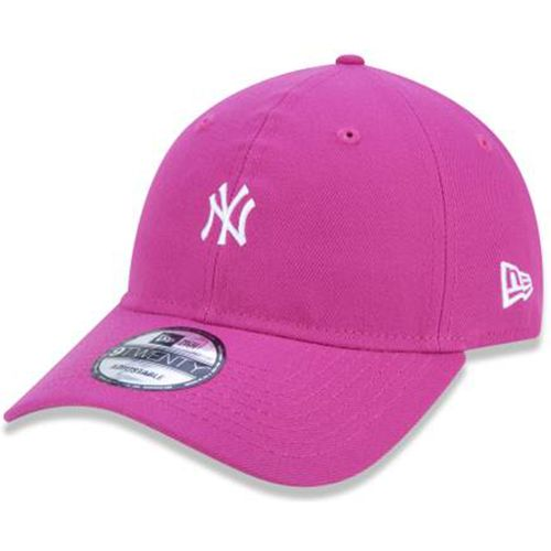 Bone-New-Era-920-New-York-Yankees-Neon-Beetroot-Rosa