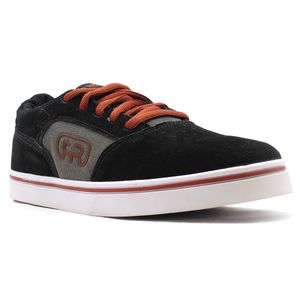 Tenis-Hocks-Media-Preto-Cobre-L13-