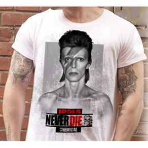 Camiseta-David-Bowie-Idols-Never-Die-Branca