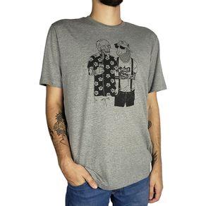 Camiseta-Lost-Friendship-Cinza-Mescla-