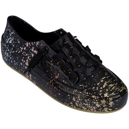 Melissa-Tenis-Ulitsa-Sneaker-Splash-Preto-Dourado