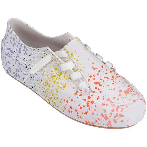 Melissa-Tenis-Ulitsa-Sneaker-Splash-Branco-Laranja