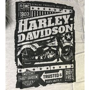 Camiseta-Harley-Davidson-Mescla-Claro