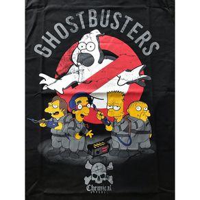 Camiseta-Simpsons-Ghostbusters-Preta
