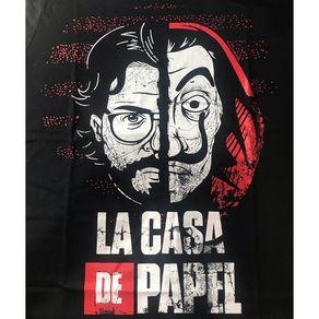 Camiseta-La-Casa-de-Papel-Rosto-Mascara-Preta