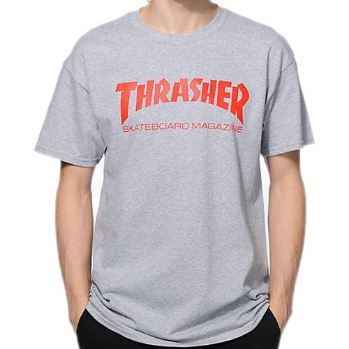 Camiseta-Thrasher-Skate-Magazine-Cinza