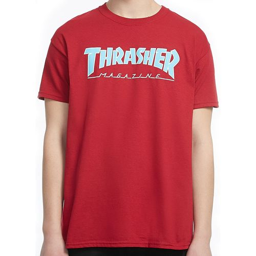 Camiseta-Thrasher-Outlined-Vermelha