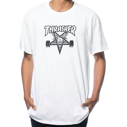Camiseta-Thrasher-Skategoat-Branca