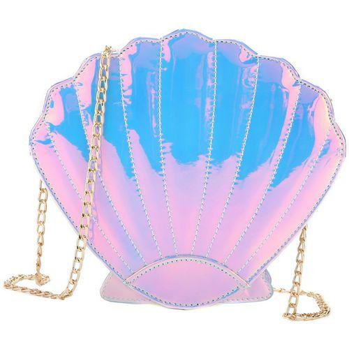 Bolsa-Concha-Iridescente-Holografica