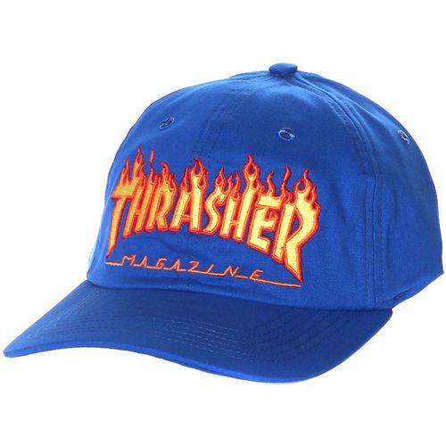 Bone-Thrasher-Dad-Hat-Flame-Azul