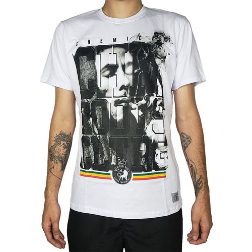 Camiseta-Bob-Marley-Roots-Branca