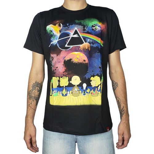 Camiseta-Snoopy-Pink-Floyd-Preta