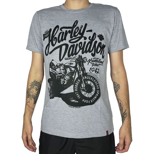 Camiseta-Harley-Davidson-Bobber-Mescla