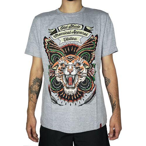 Camiseta-Tigre-Tattoo-Mescla