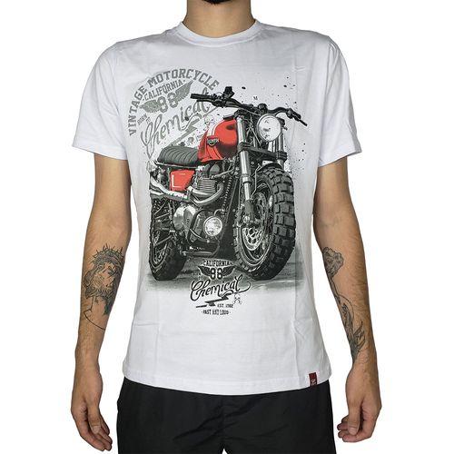 Camiseta-Vintage-Motorcycle-Branca