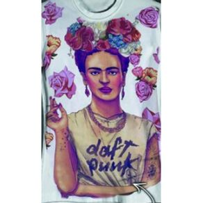 Camiseta-Canoa-Frida-Kahlo-Branca