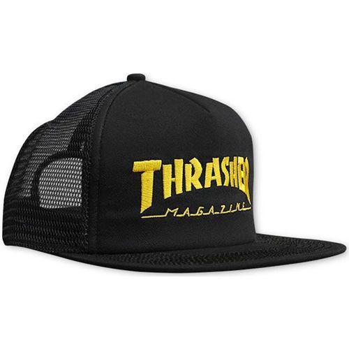Bone-Thrasher-Trucker-Mag-Logo-Mesh-Preto-Amarelo