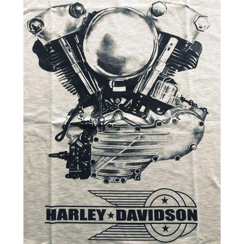 Camiseta-Harley-Motor-Mescla-Claro