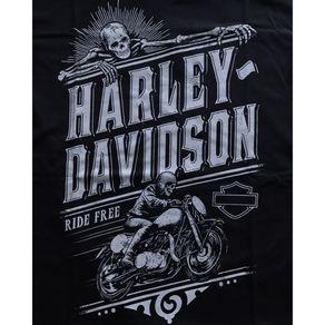 Camiseta-Harley-Free-Ride-Preta