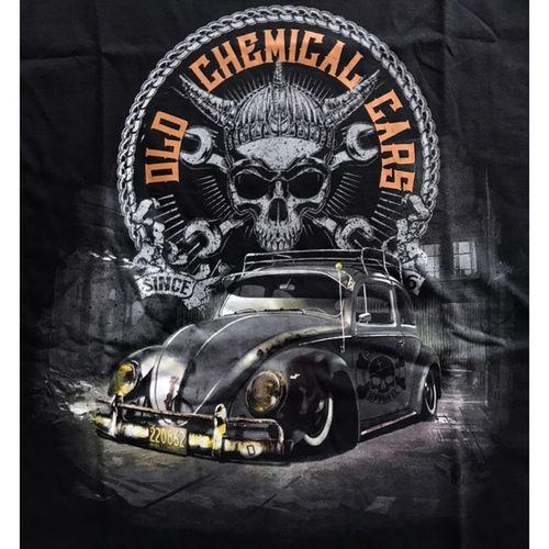 Camiseta-Old-Cars-Preta
