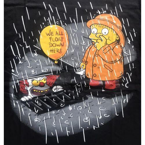 Camiseta-It-Simpsons-Preta