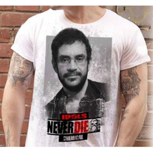 Camiseta-Renato-Russo-Idols-Never-Die-Branca