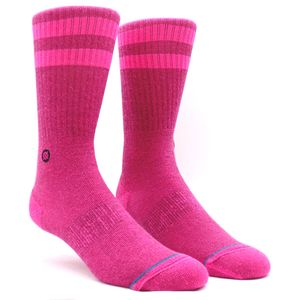 Meia-Stance-Joven-Neon-Pink