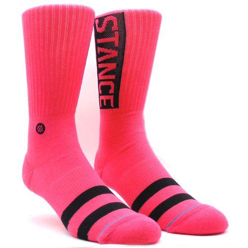 Meia-Stance-OG-Neon-Pink