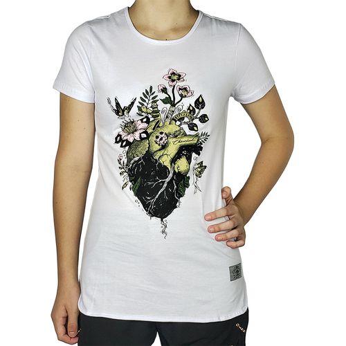 Camiseta-Babylook-Coracao-com-Flores-Branca-