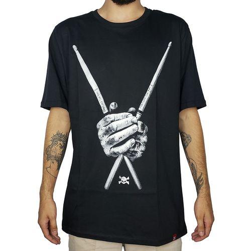 Camiseta-Baqueta-Preta-