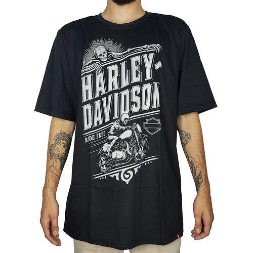 Camiseta-Harley-Ride-Free-Preta