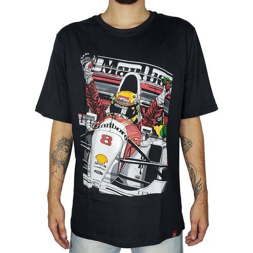 Camiseta-Ayrton-Senna-Preta-