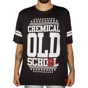 Camiseta-Old-School-Star-Preta-